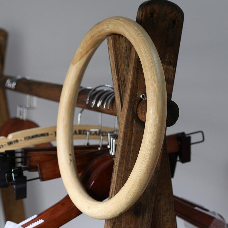 Novo kung fu anel asa chun rattan anel 1 peça tradicional artes marciais manequim de madeira mão pulso strenght treinamento