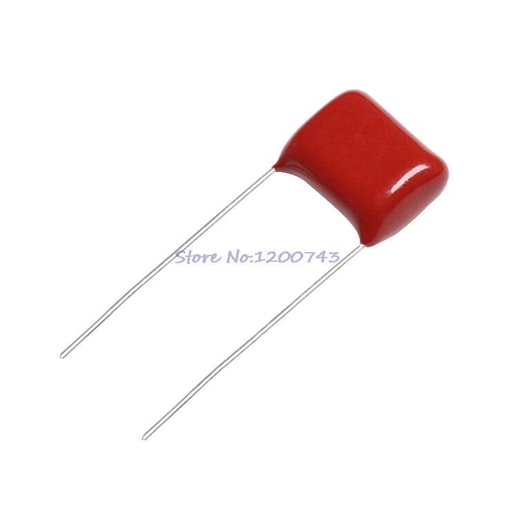 10 unids/lote 630V684J 0,68 UF paso 20 684 MM 630V 680nf CBB condensador de película de polipropileno