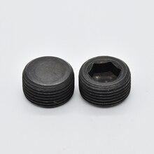 M10 TO M33 Black Grade 12.9 Thread 1.5 Hex socket Carbon Steel cylindrical Screw Plug