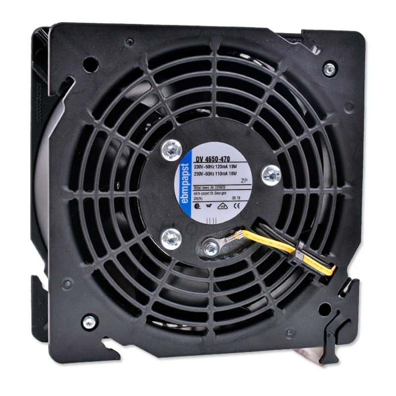 DV 4650-470 12cm 120x120x38mm AC230V 220V 120mA 19W de alta-de metal de gabinete de ventilador de refrigeración