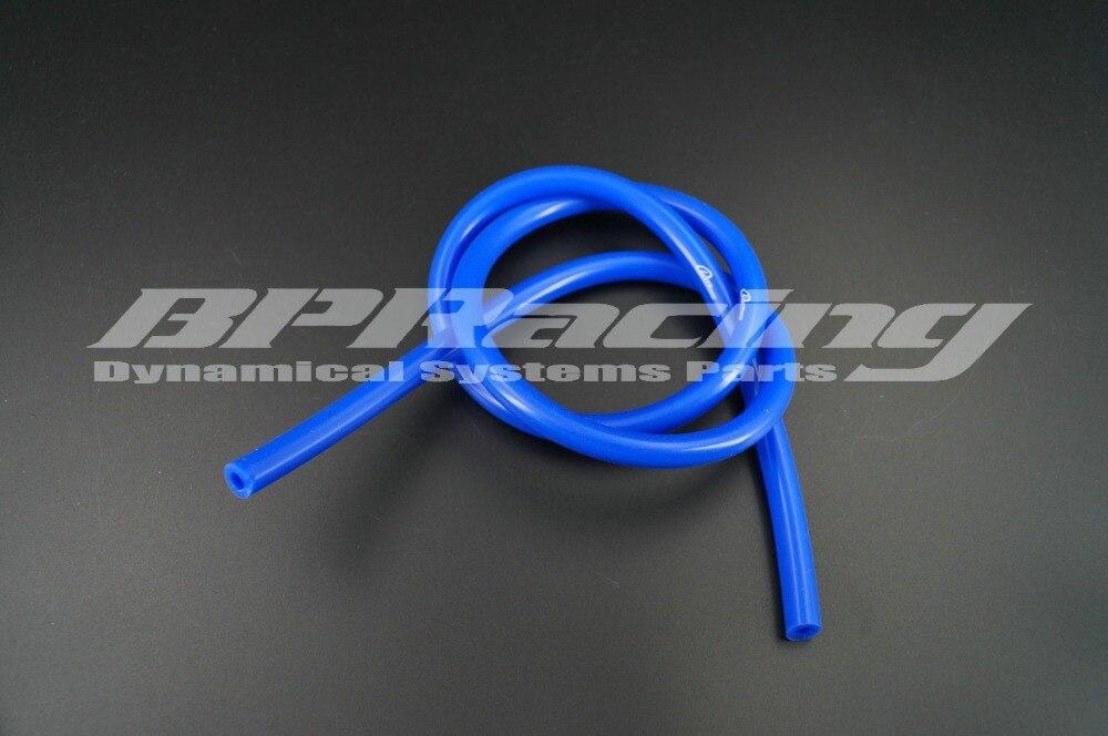 Manguera de vacío de silicona/tubo/azul/6mm ID/manguera de vacío de silicona/manguera de radiador de volteo Turbo /1 metro de longitud