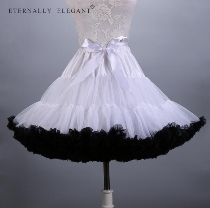 2018 Hot Sale Colorful Tulle Girls Petticoat Underskirt Lolita Faldas Tulle Skirt  EE807