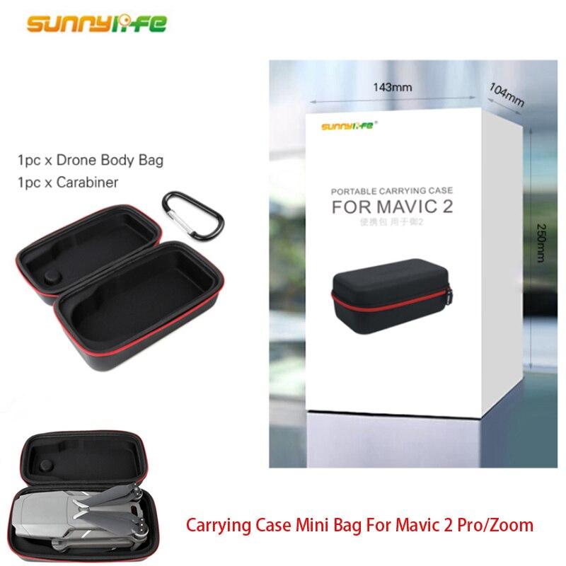 Sunnylife Mavic 2 pro/zoom portátil mini caso bolsa de almacenamiento para el MAVIC de DJI 2 PRO y ZOOM Drone