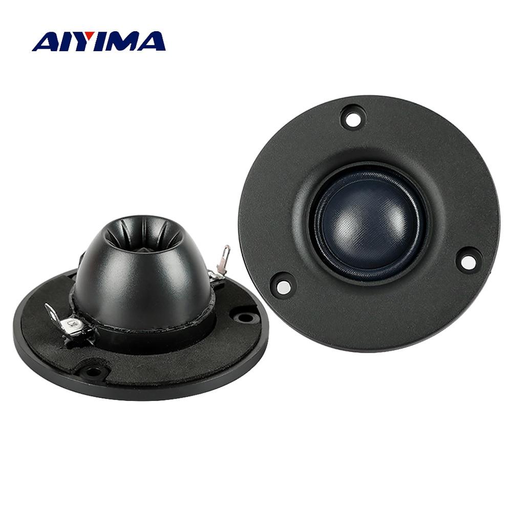 Aiyima 2 шт. 3 дюймовый звуковой динамик твитер Hifi 4Ohm 8Ohm 15 Вт шелковая пленка тройной динамик Неодимовый магнитный громкоговоритель