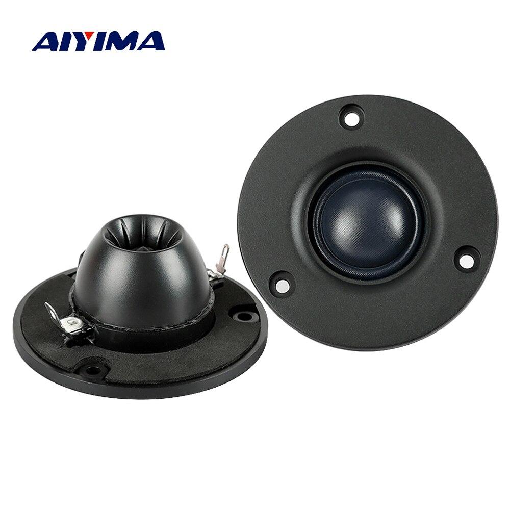 Aiyima 2PC 3 pulgadas de Audio altavoz Tweeter Hifi 4Ohm 8Ohm 15W de película altavoz de agudos de neodimio magnético altavoz