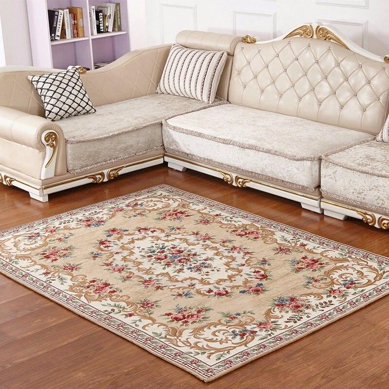 Alfombras/alfombras para sala de estar de estilo europeo de 200x290 cm, alfombrilla para mesa de té, dormitorio, alfombra para el suelo