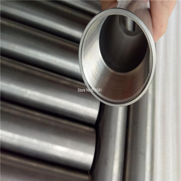 Gr5 tubo de titanio grade5 tubo de rosca de titanio OD35mm * 28mm ID * 500mm de largo, envío gratis
