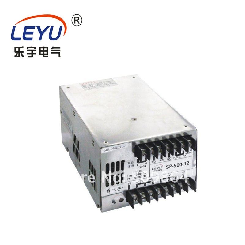2 الضمان الصين المورد 500w 27vdc 18a المستمر الجهد smps ل led SP-500-27 PFC