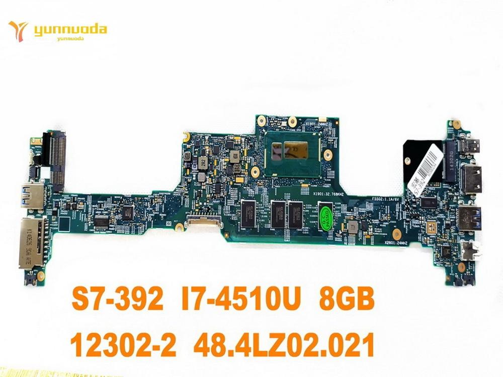الأصلي forACER S7-392 اللوحة المحمول S7-392 I7-4510U 8GB 12302-2 48.4LZ02.021 اختبار جيد شحن مجاني