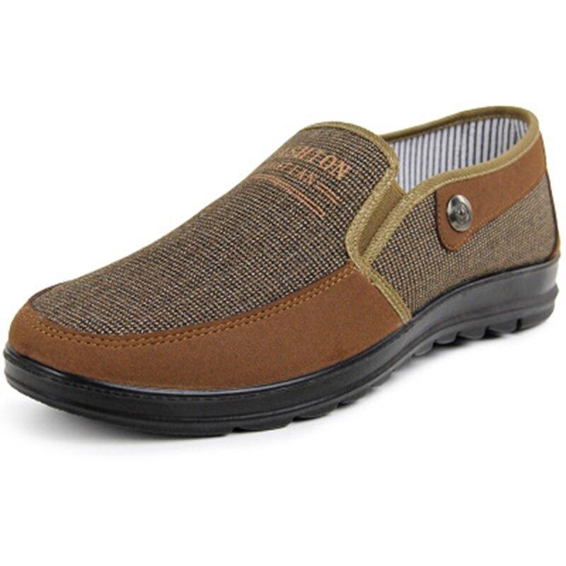 Zapatos de lona para hombre de verano 2019, zapatos informales transpirables, calzado antideslizante para hombre, zapatos planos antiguos, zapatos de tela de Beijing bombinta 130
