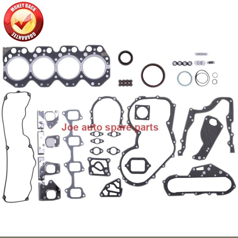 14B junta Do Motor Completo conjunto kit para DAIHATSU DELTA COASTER TOYOTA DYNA 200 3.7 d 3.7L 04111-56070 51012600 04111-56060 0411156070