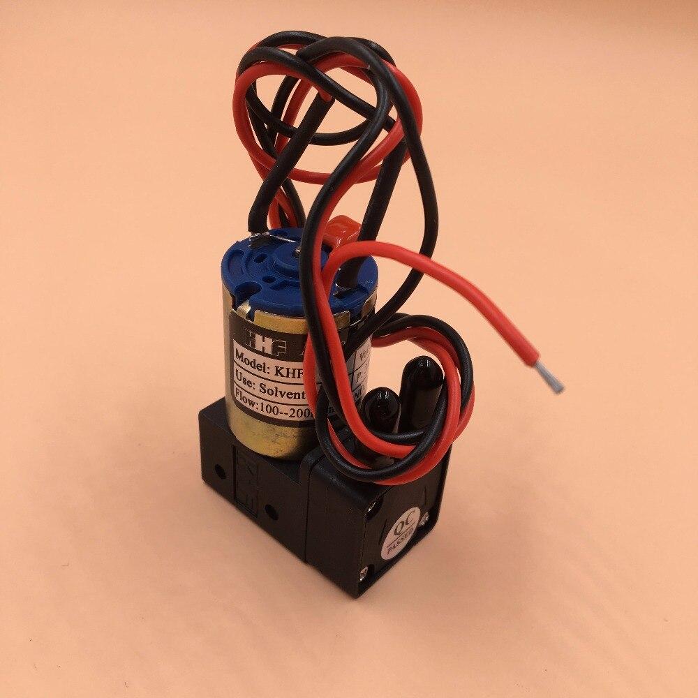 10 KHF bomba pequena de tinta para impressora de Grande formato solvente Liyu Infinito Myjet Allwin impressora Xuli bomba líquida 3w 24v pequena bomba