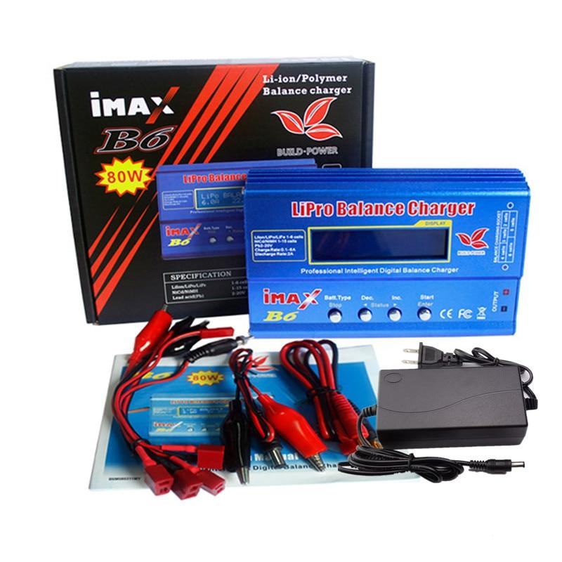Встроенный аккумулятор Lipro Balance Charger iMAX B6, зарядное устройство Lipro с цифровым балансом + кабели для зарядки