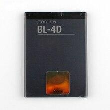 Oryginalny wysokiej pojemność BL-4D akumulator litowo-jonowy wymiana bateria do Nokii BL4D E5 E7 N5 702 T N8 N97mini