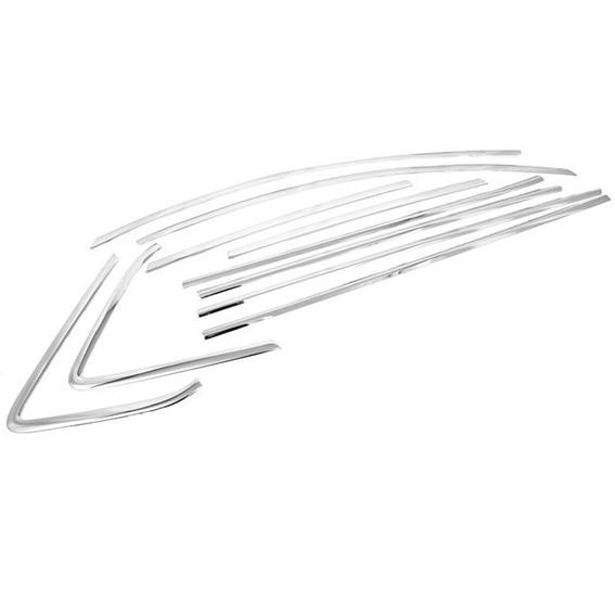 Chrome Styling Side Window Top Trim Set for Mazda 3 2009-2012 Hatchback