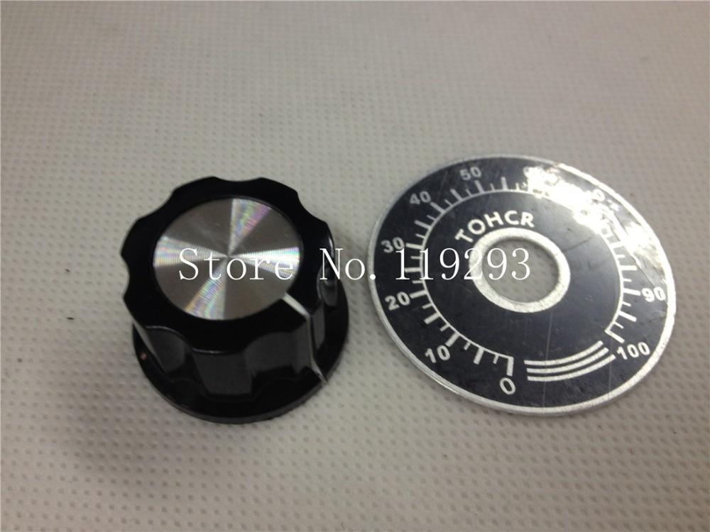 [BELLA] качественный цифровой циферблат + ручки MFA03 больше для RV24 RV30 WH118 однооборотный потенциометр 40 мм x 27 мм 6 мм -- 50 шт./лот