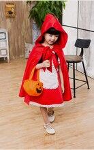 Petit chaperon rouge Costume dhalloween pour filles Costume de carnaval mignon Cosplay Cosplay lol Annie costume déguisement fête