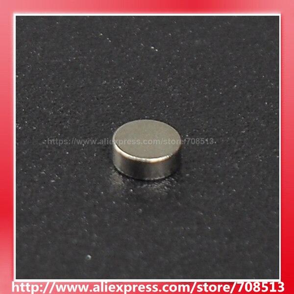 2mm (diámetro) x 1mm (alto)/4mm (diámetro) x 1,5mm (alto)/5mm (diámetro) x 2mm (alto) /6mm (diámetro) x 1mm (H) imán de NdFeB-Plata (10 uds)