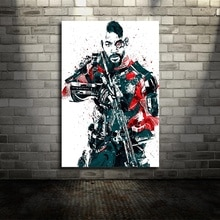 Suicide Squad Deadshot DC película lienzo póster pared arte impresión niños decoración hogar
