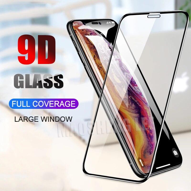 2 шт./лот, полное покрытие, закаленное стекло для iPhone X XS Max XR, защита для экрана, защита от синего света, стекло для iPhone X XS XR, стеклянная пленка