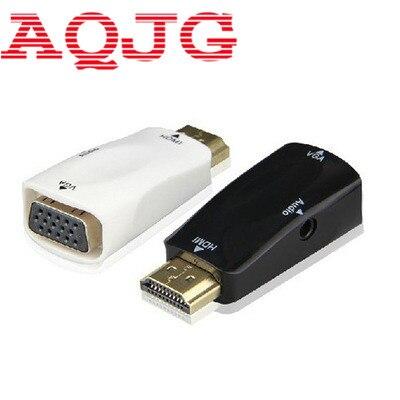 HDMI a VGA con Cable de Audio adaptador de HDMI a VGA...