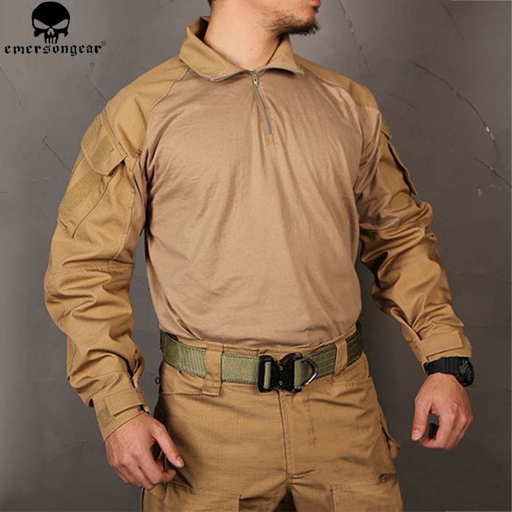 EMERSONGEAR-قميص قتالي متعدد الكاميرات ، ملابس صيد G3 BDU Airsoft ، تكتيكي ، emerson Army ، عسكري ، حربية ، قميص أسود متعدد الكاميرات