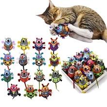 Jouets fournitures pour chats 1 pièce   Jouets intérieur interactif en forme de chatn et cloche, souris à longue queue, jouets de jeu pour chats chaton, produits fournitures pour animaux de compagnie
