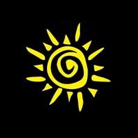 for tribal sun sunshine car window decal bumper sticker tattoo star native hieroglyph car stickers