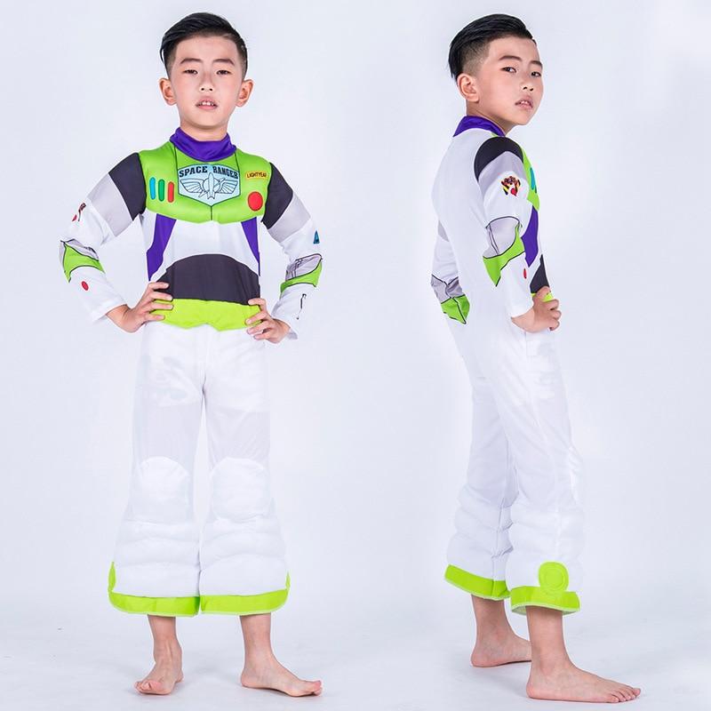 Buzz Lightyear Toy Story 3 Anime Animation Movie Children Cosplay Halloween Play Costume