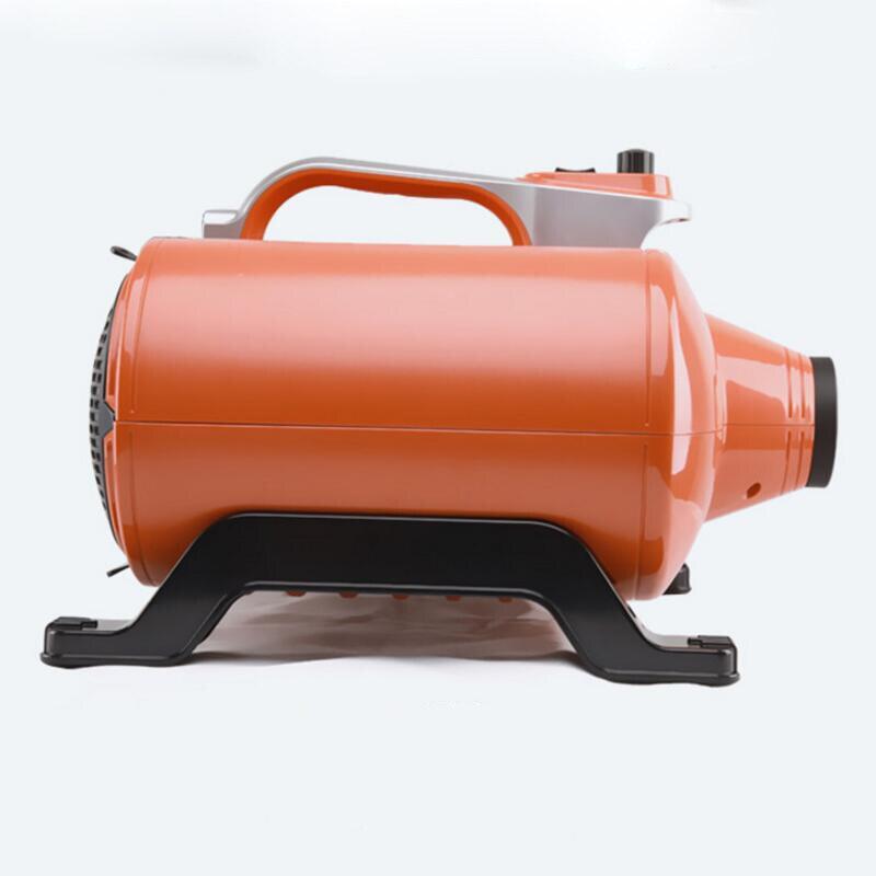 3000 w Pet Secador de Cabelo Portátil de Ouro Com Motores Duplos Blower Máquina de Água Ventilador Do Cabelo do animal de Estimação Cães de Grande Porte de Alta Potência baixo Som