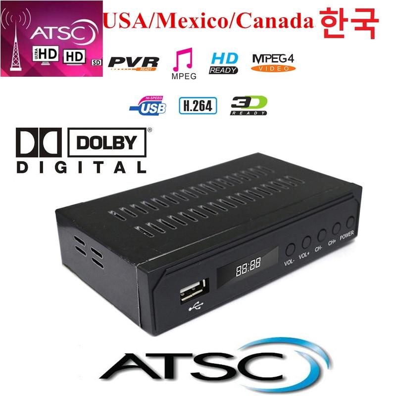 Atsc الأرضية HD الرقمية استقبال ATSC T دولبي Ac3 التلفزيون استقبال موالف ل USA المكسيك كندا الكورية