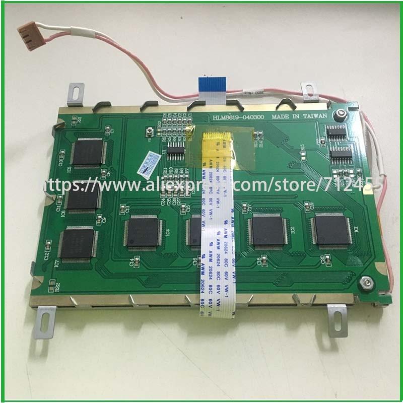 """HLM8619 HLM8619-040300 5,7 """"320*240 STN LCD Panel de pantalla HLM8619 040300 TW-22 94V-0 1208"""