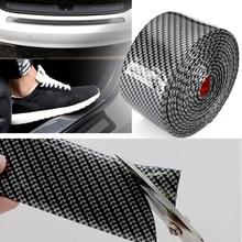 Guard Protector DIY Trucks Sill Protector Trunk Black Accessories Replacement 2.5m*5cm Sticker