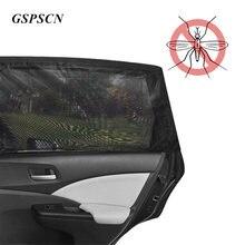 Abat-soleil pare-soleil en maille noire   Rideau de voiture 2 pièces, protection contre la poussière, protection contre les moustiques