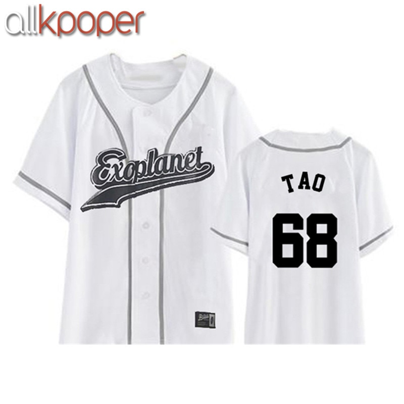 Футболка ALLKPOPER, новинка EXO Plane3, Kpop, Exo, Chanyeol, Sehun, Xiumin, Baekhyun, K-POP, Exo