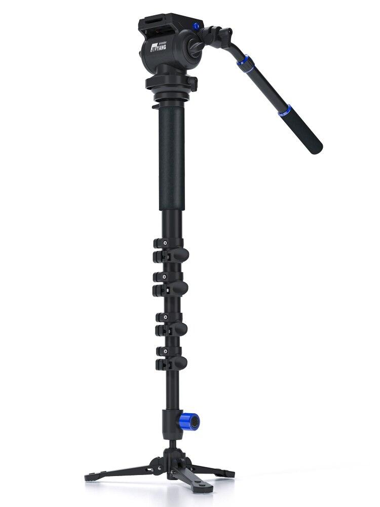 JieYang JY0618 профессиональный монопод из углеродного волокна для видео и