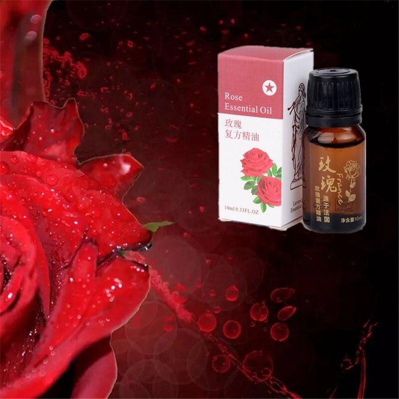 Quente 1 garrafa mulher homem emagrecimento produtos rosa óleo essencial para perder peso e queimar gordura rosa queimador essencial anti-celulite