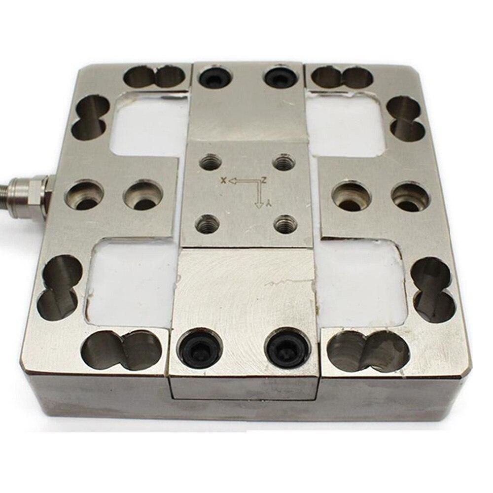 Sensor de célula de carga tipo multieje CALT 50N X Y Z Anti-fuerza lateral de acero de aleación IP66, prueba de Control de Sensor de pesaje Industrial