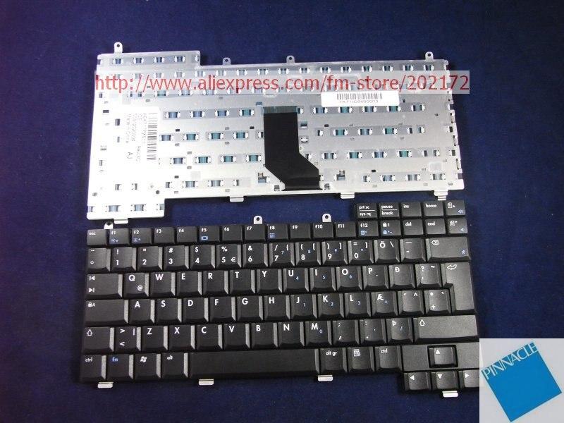 Aspecto usado como el nuevo teclado negro para Notebook 317443-DD1 para HP Pavilion 2100 NX9000 1110 EV0 N1050V Series (islén)