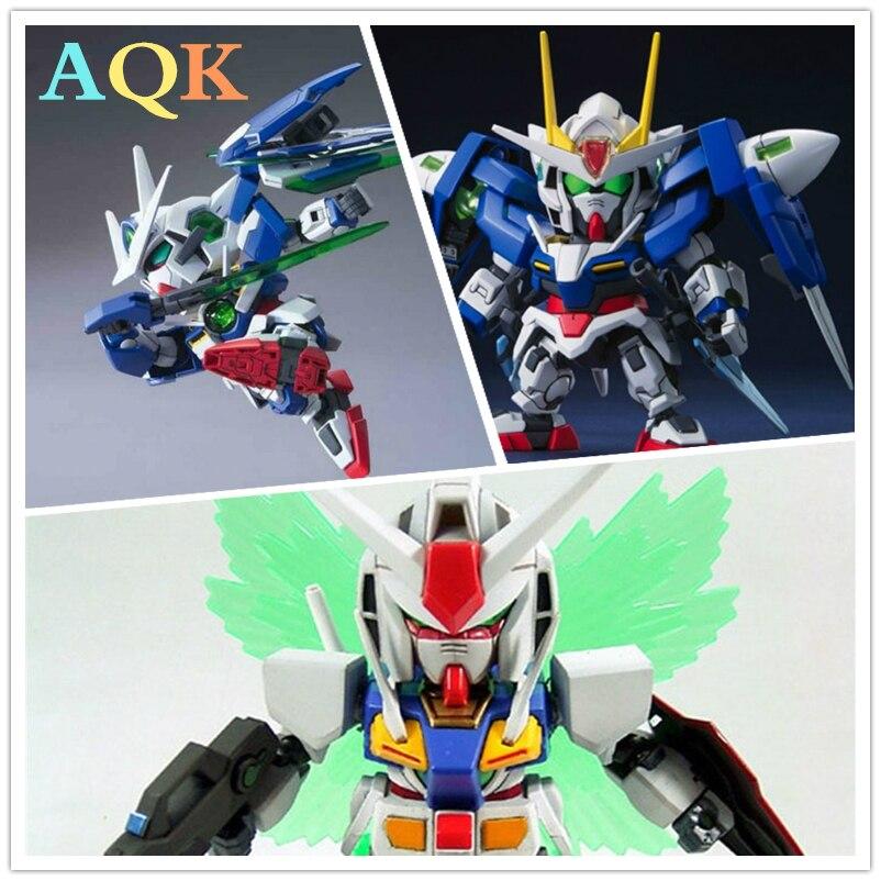 Экшн-Фигурки 9 см, модель куклы, подвижная сборная кукла, сборная сборка из ПВХ, фигурка Gundam Actiefiguren, робот-костюм, сборная игрушка-воин