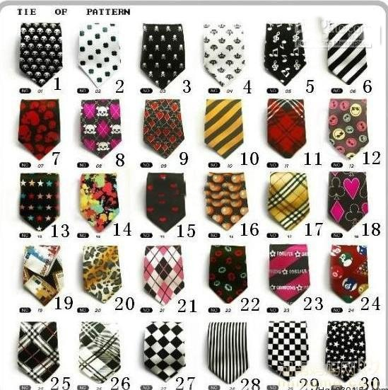 30 designs children ties necktie choker cravat boys girls ties b  aby  neckwear ,200pcs/lot,dandys