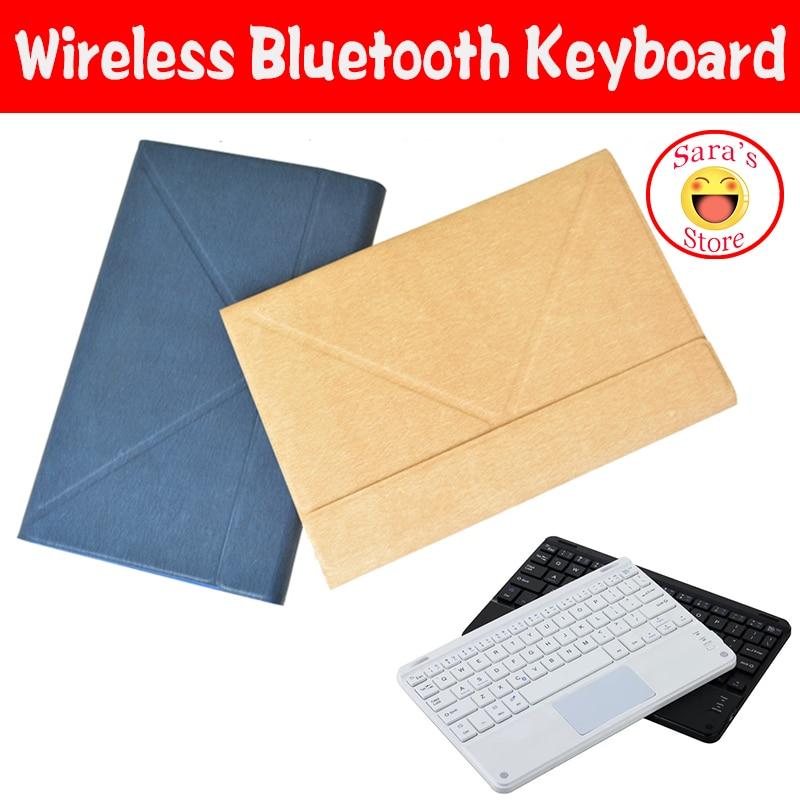 """Funda de teclado inalámbrico Bluetooth de idioma Local de negocios para Lenovo Miix2 10 Miix210 Miix 210 10,1 """"Tablet PC con 4 regalos"""