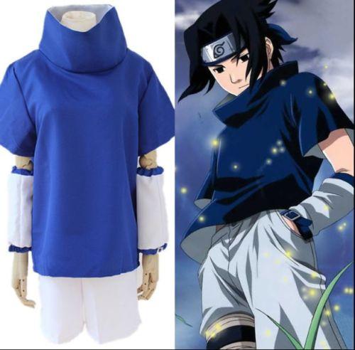 Unisex Cosplay Costumes Japan Anime Naruto Uchiha Sasuke Cosplay Party Costumes New Fashion Japanese Cartoon