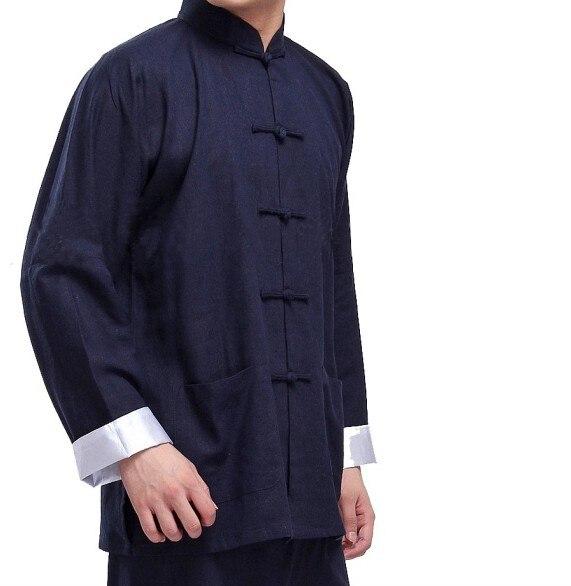 Costume tang chinois classique Kung Fu costumes Bruce Lee vêtements aile Chun taiji tai chi vêtements ensemble costume pour hommes 2 pièce/ensemble