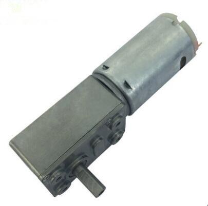 JGY-395 DC Turbine Vortex Rod Gear Motor Square Reducer Motor 6-12V