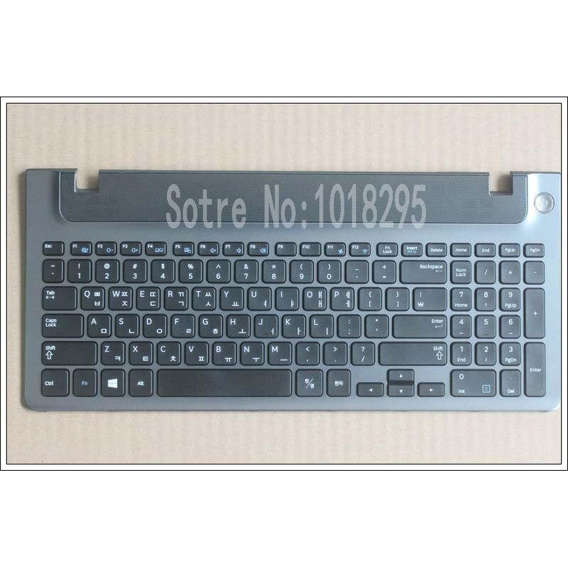 Nuevo teclado coreano para ordenador portátil con marco para Samsung NP355E5C NP355V5C NP300E5E NP350EC NP350V5C KR diseño de teclado