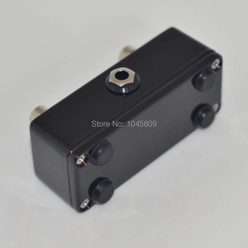 Momentary/Latching  Guitar Foot Switch  AMP Dual 2 Channel Black Footswitch AMPLIFIER enlarge