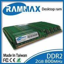 Neue versiegelt LO-DIMM 800 Mhz Desktop-speicher Ram 2 GB DDR2 PC2-6400 240pin/CL6/1,8 v kompatibel mit alle AMD/Intel motherboards von PC