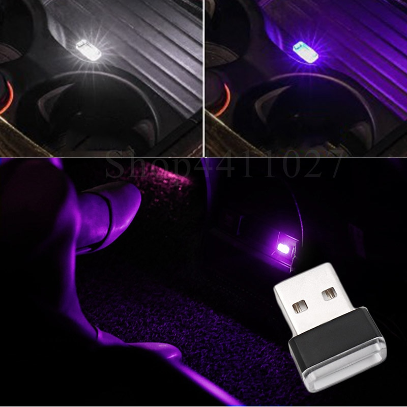 USB LED Light Car Atmosphere Decorative Lamp Accessories For Suzuki gsr gsxr 600 750 1000 ltz 400 grand vitara sv 650