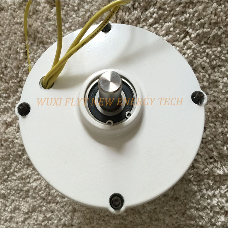 Alternador de generador de imán permanente, alternador vertical horizontal de 200ws 12v...